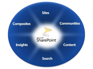 SharePoint 2010 Capabilities Pie